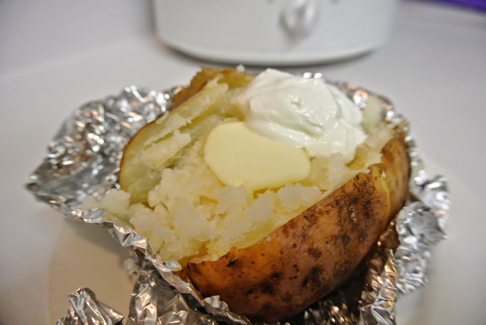 My Kind of Cooking: Slow Cooker Baked Potato