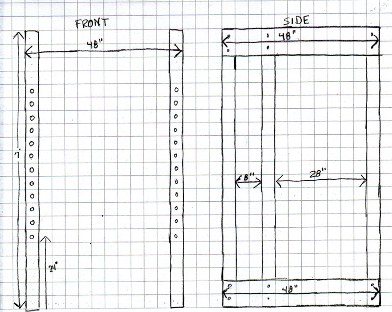 pdf diy wooden power rack plan download wooden rack sleeve