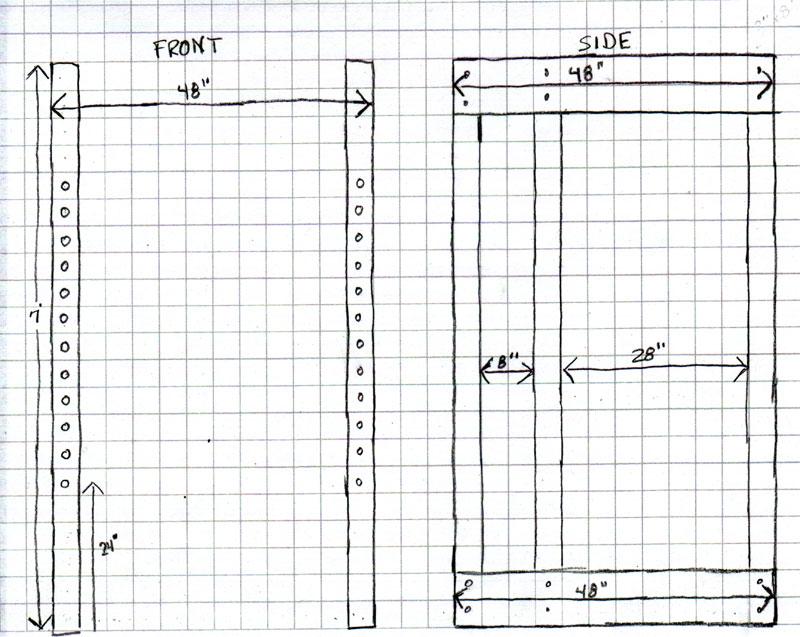 wooden power rack plans homemade wooden power rack power
