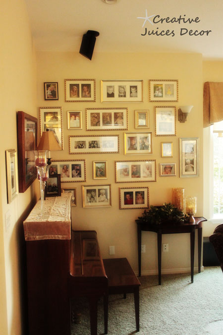 Creative Juices Decor: A Complete Wall FULL of Grandchildren ...