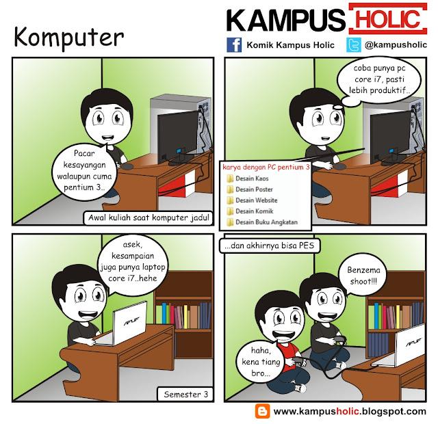 #174 Komputer pentium 3, dan core i7 mahasiswa
