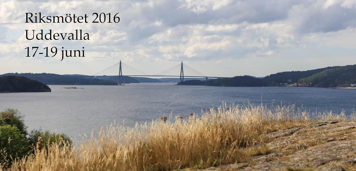 Information om STAs riksmöte i Uddevalla  2016