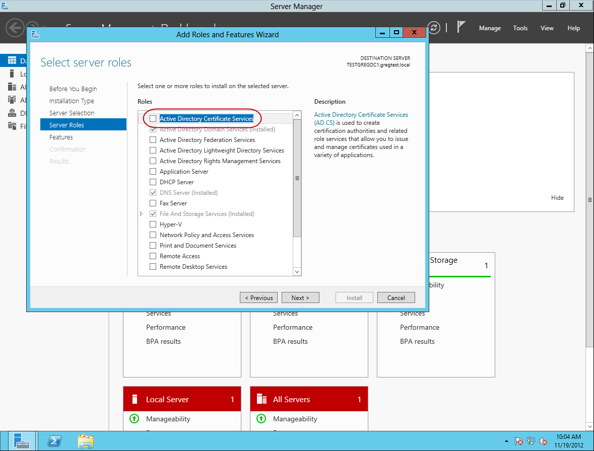 Gregs technobabble enabling ldap ssl in windows 2012 self 6 select the role that you want to install in this case select certificate services and click next 7 xflitez Images