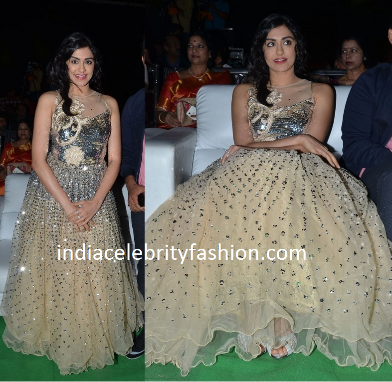 Adah Sharma in Shimmer Lehenga