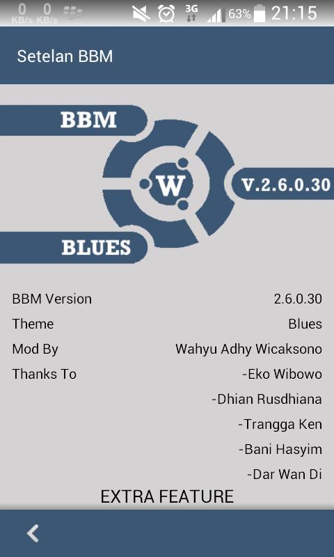 BBM Mod Lollipop Theme