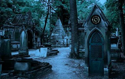 Escape from Père-Lachaise Cemetery
