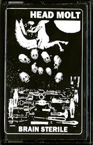 """Head Molt """"Brain Sterile"""" cassette c21 (AE65) 2011"""