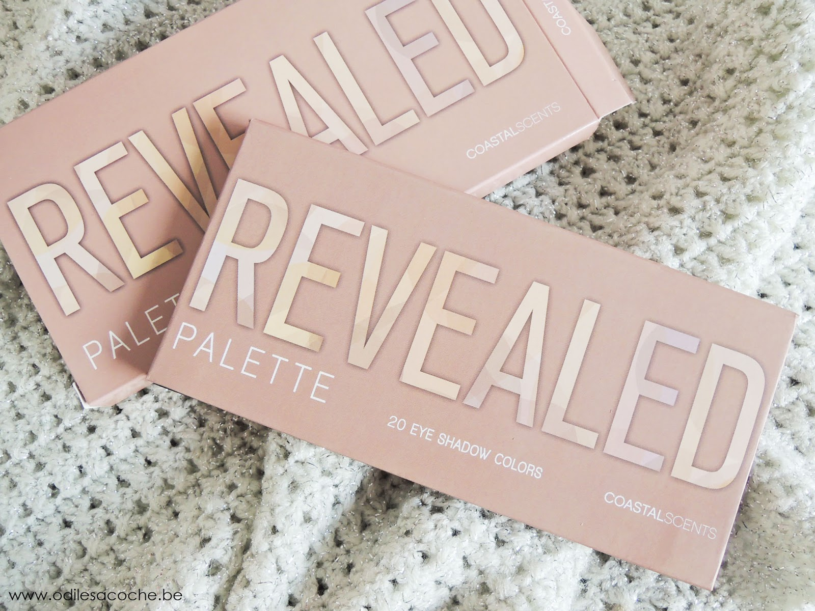 Packaging de Revealed palette