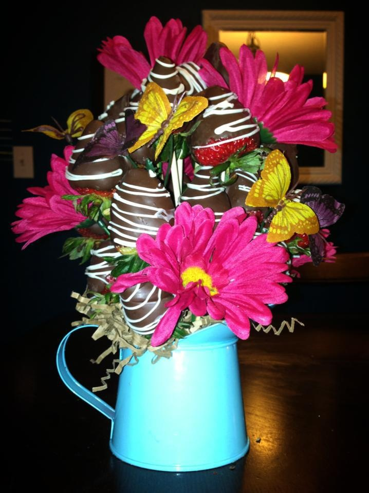 Sweet Events by Tammy Peppers: Fruit Bouquets- not your average ...