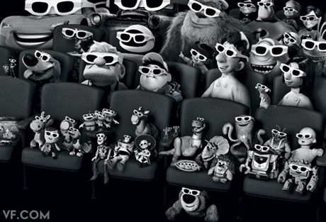 pixar characters 3d. Pixar animator Chris Chua has
