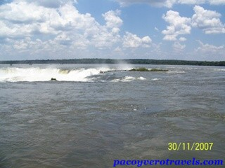 Cataratas de Iguazu vistas desde Argentina