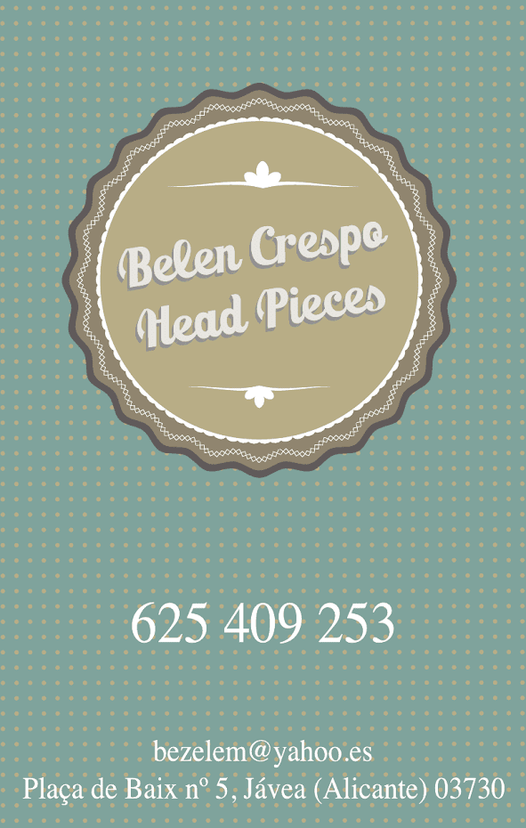 Belén Crespo Head Pieces