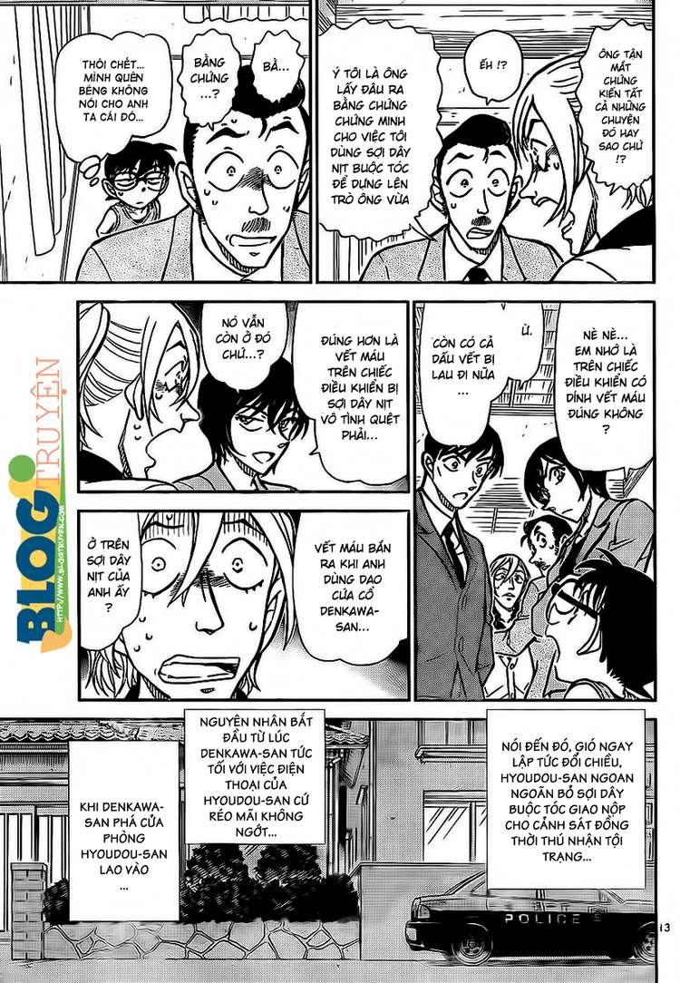 Detective Conan - Thám Tử Lừng Danh Conan chap 789 page 14 - IZTruyenTranh.com