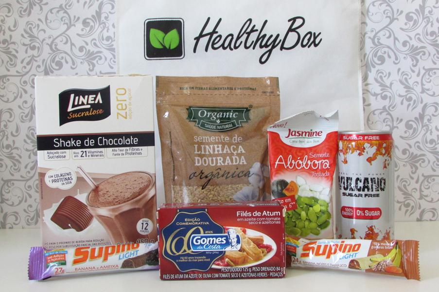 Healthy Box, Kit , Saudável, Assinatura