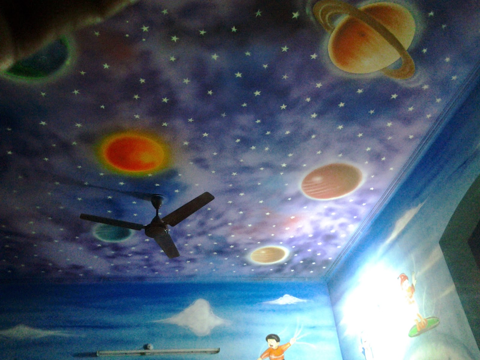 Learn about star ceilings from Your Dallas Handyman