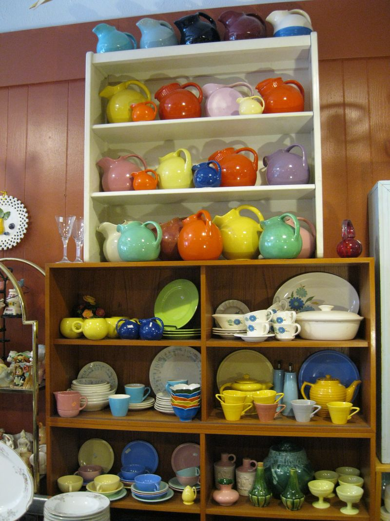 gold country girls: Pottery Display - Some Of My Favorites