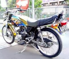 Kumpulan gambar hasil modifikasi motor RX king terbaru