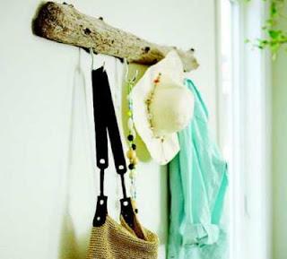 Ideas para el hogar, madera para colgar tus cosas!