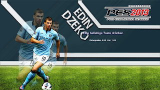 Download Start Screen Edin Dzeko PES 2013 by PownedLP