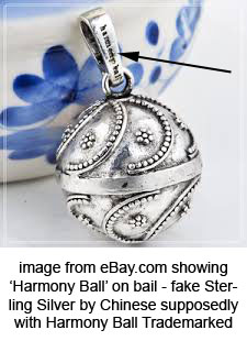 fake harmony ball image ebay 4