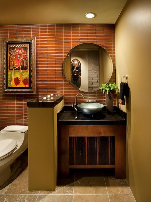Diseno De Baños Con Granito:HGTV Bathroom Mirror Ideas