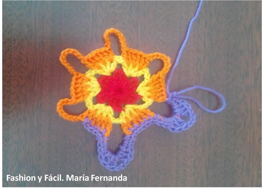 Fantástico Crochet Patrón De Estrella De La Pradera Adorno - Ideas ...