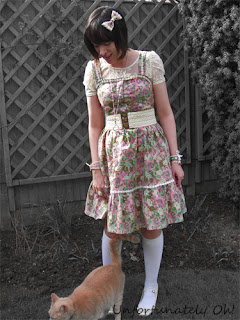 floral dress refasion