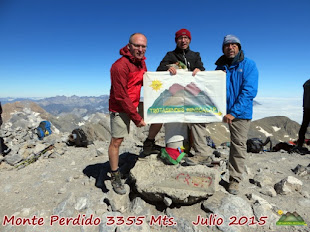 MONTE PERDIDO 3355 MTS.