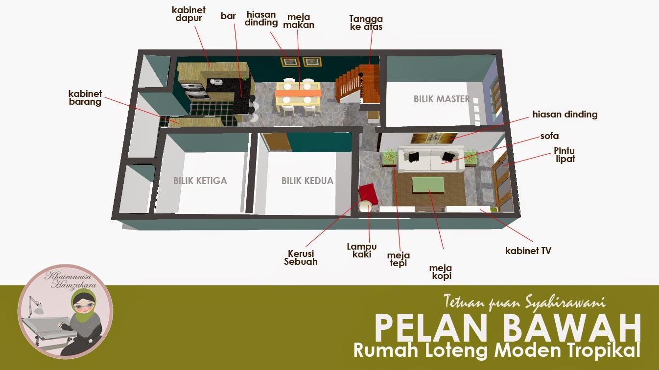 Design Loteng Rumah Teres | Ask Home Design