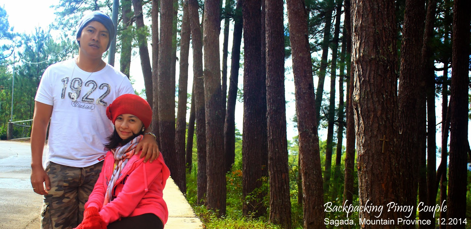 Backpacking Pinoy Couple, Sagada, Mountain Province, Philippines