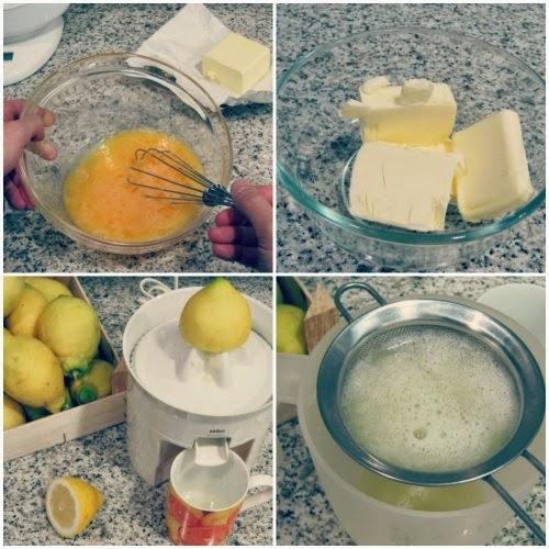 Paso a paso receta Lemon curd