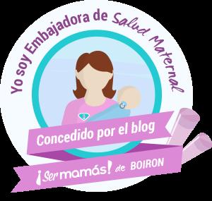 Sello Embajadora de Salud Maternal