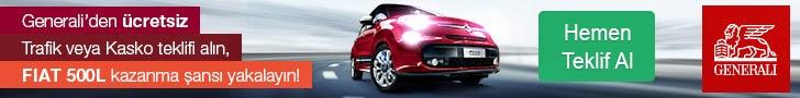 Generali'den Fiat 500L kazanma şansı sizleri bekliyor!