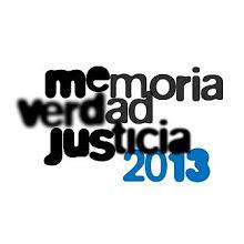 Muestra Memoria Verdad y Justicia 2013