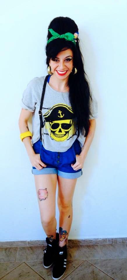 Sósia Amy Winehouse Brasil