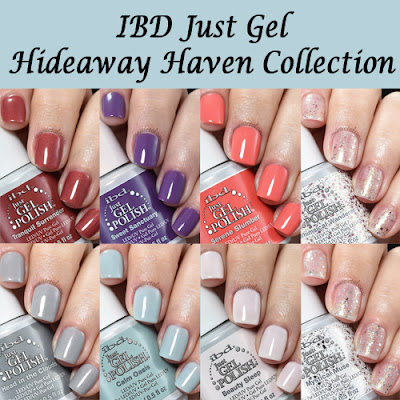 IBD Just Gel Hideaway Haven Collection Swatches and Review