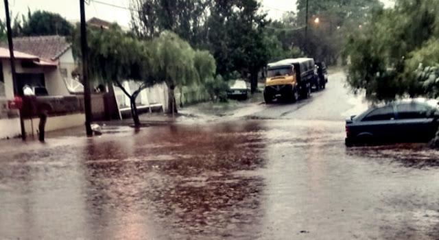 Roncador: Chuva causa pontos de alagamentos