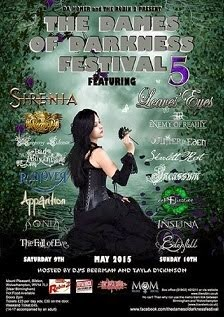 THE DAMES OF DARKNESS FESTIVAL 2015