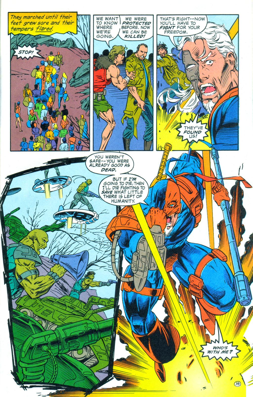 Deathstroke (1991) Annual 3 #3 - English 39