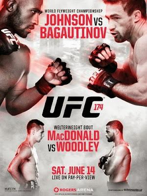 UFC 174: Johnson vs. Bagautinov  HDTV