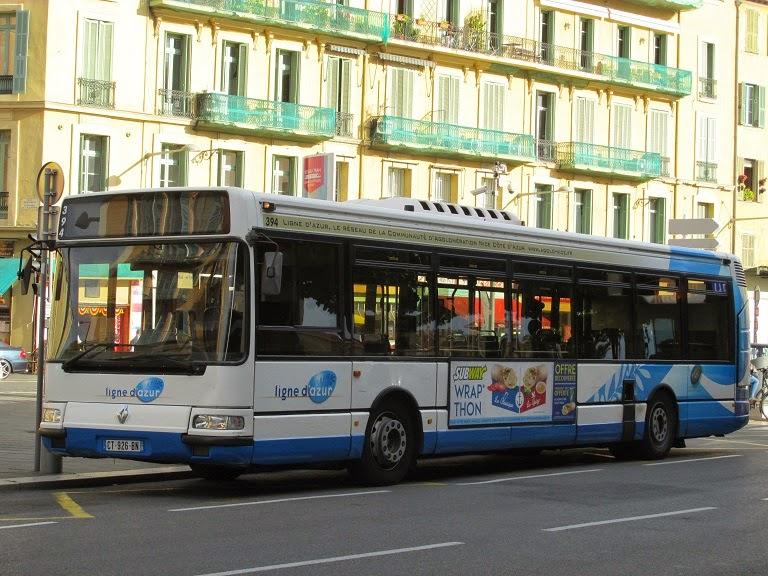 un passionn de bus parmi d 39 autres r gie ligne d 39 azur 394. Black Bedroom Furniture Sets. Home Design Ideas