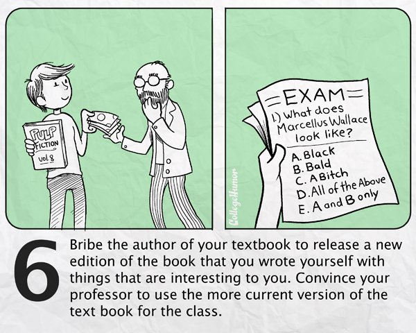 Inefficient ways to cheat on your final exams, funny pictures, funny, comic, pictures