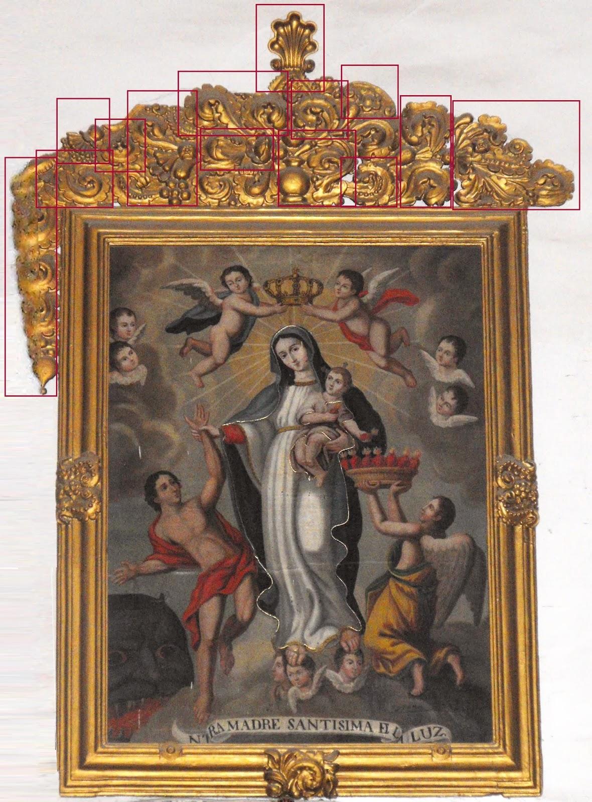 Aculco, lo que fue y lo que es: Nuestra Señora de la Luz y su marco ...