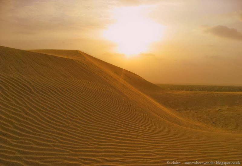 Sunset - Jaisalmer desert, India
