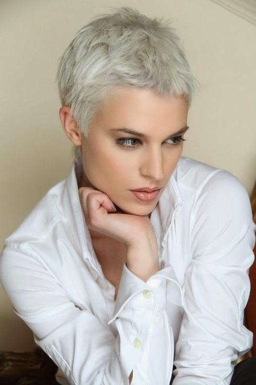 Platinum short haircuts urmus Gallery