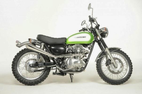 Kawasaki W800 Scrambler By Earnshaws Motorcycles