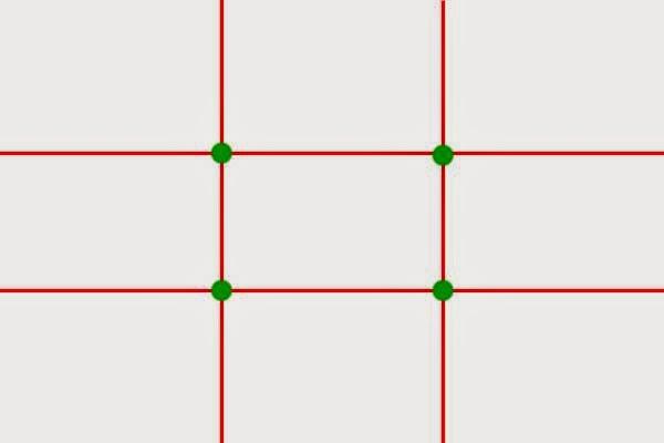 قاعدة الأثلاث أو ما يصطلح عليها باللغة الإنجليزية بـ Rule of thirds
