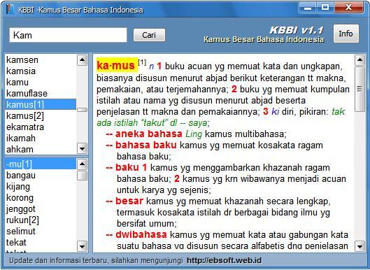 kamus bahasa indonesia masih banyak orang indonesia yang tidak