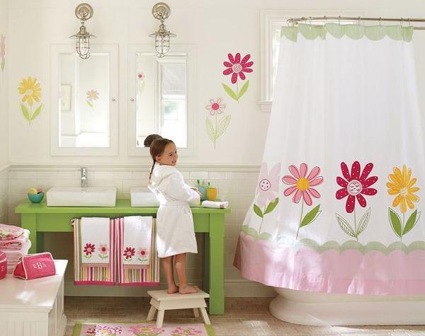 Little Girls Bathroom Decorating Ideas