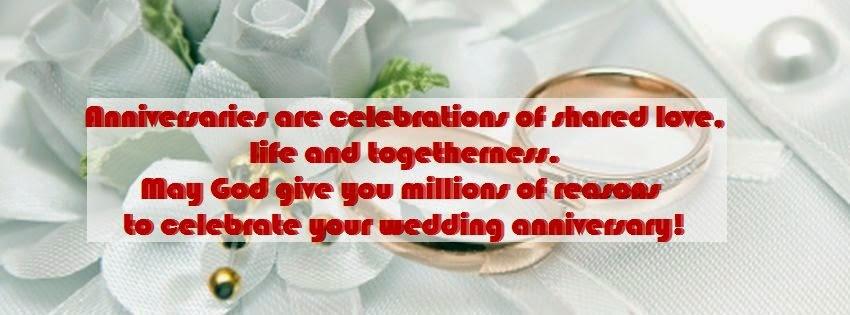Joyeux anniversaire de mariage pour vous deux